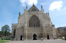Exeter Cathedral, West Wing, Devon © Julian P Guffogg